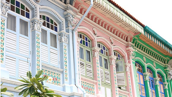 Singapore Colonial Houses